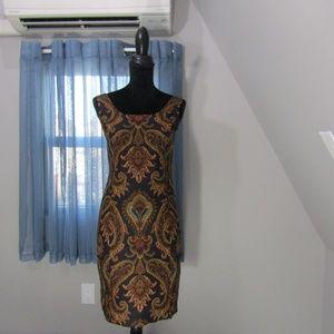 JONES NEW YORK PAISLEY DRESS!